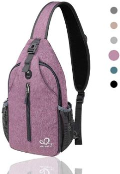 #3Waterfly Crossbody Sling Backpack Sling Bag