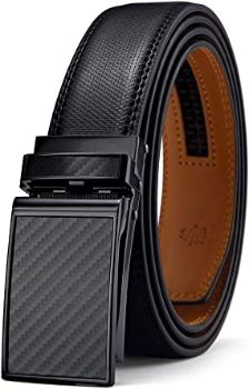 #4. Bulliant Designer Belt for Men, Genuine Leather