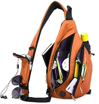 #5 Magictodoor Sling Bag for Women Travel Packs