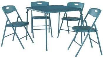 5. Cosco 5-pc Folding Table and Chair Set