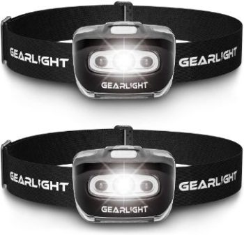 #5. GearLight LED Flashlight S500 Headlamp