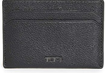 5. TUMI - Nassau Slim Card Case Wallet with RFID ID Lock