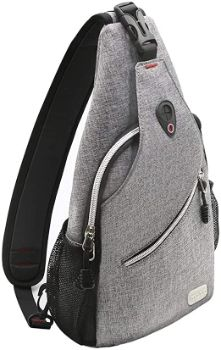 #6 MOSISO Sling Backpack, Shoulder Bag Travel Hiking Daypack