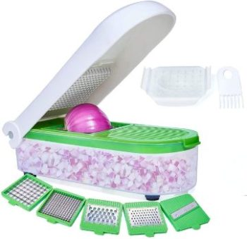 6. LHS Vegetable Chopper with 5 Blades