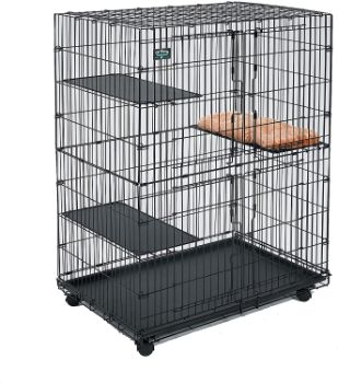 #6. Midwest Home for Pets Cat Cage