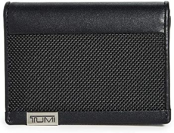 6. Tumi Men's Alpha Gusseted Card Case