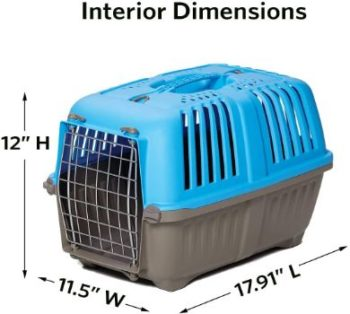 #7. Midwest Homes for Pets Travel Pets Carrier
