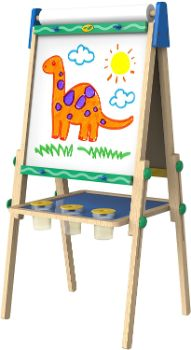 #8 Crayola Kids Wooden Easel, Amazon Exclusive