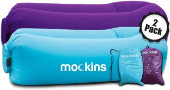 #8 Mockins 2 Pack Lounger Hangout Sofa Bed