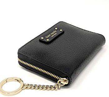 8. New York Kate Spade Continental Jeanne Leather