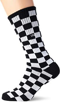#8. Vans Checkerboard Socks, Crew…