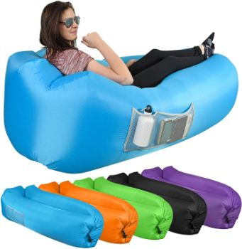 #9 KOR Outdoors Inflatable Air LoungerSofa