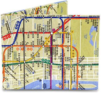 9. Mighty Wallet Men's NYC, Multi_sub way map