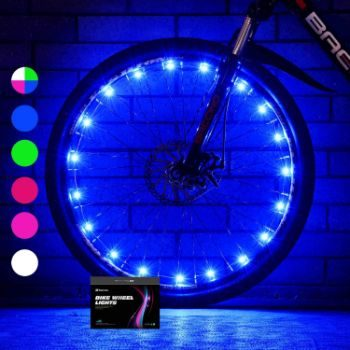 9. Sumree Bike Wheel Lights LED Bike Spoke Light