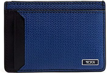 9. TUMI - Monaco Money Clip Card Case Wallet for Men
