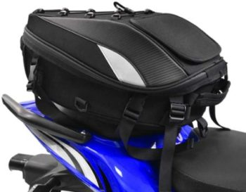 #10 Motorcycle Seat Tail Bag Backpack Dual Use Motorcycle