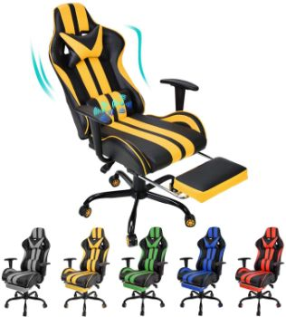 10. Massage Gaming Chair
