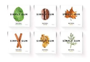 10. Simply Gum Natural Chewing Gum Variety Pack