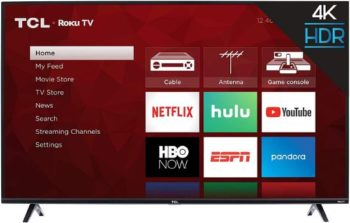 4. TCL 43S425 43 Inch Smart TV