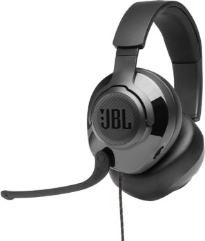 6. JBL Quantum 300 Gaming Headphones, Wired Over-Ear