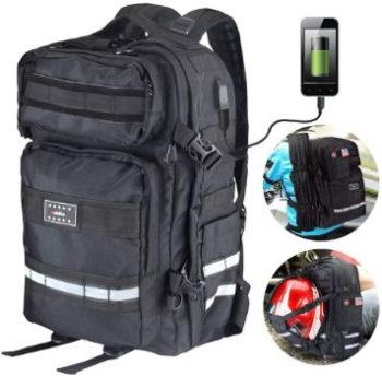 #8 Goldfire V2 Waterproof Rechargeable Large Laptop Backpack