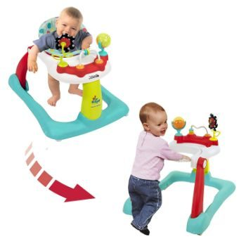 #8 Kolcraft Tiny Steps 2-in-1 Infant & Baby Activity Walker