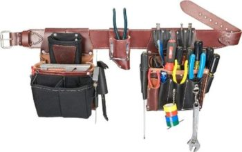 9. Occidental Leather 5590 LG Commercial Electrician's Set