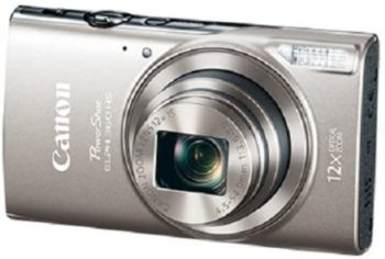 1. Canon PowerShot ELPH 360 Digital Camera