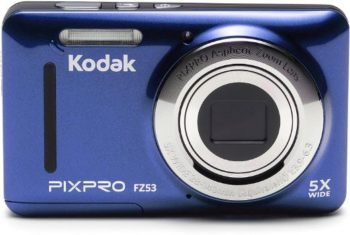 2. Kodak FZ53-BL Point and Shoot Digital Camera