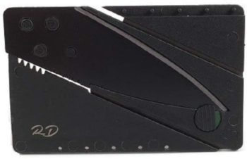 3. Folding Credit Card Knife