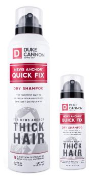 5. Duke Cannon News Anchor Dry Shampoo