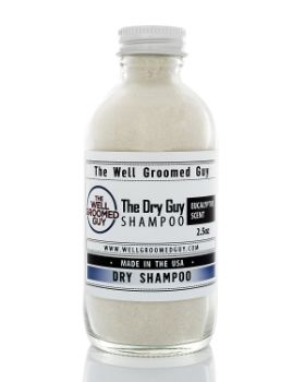 6. The Well-Groomed Guy Men's Dry Shampoo