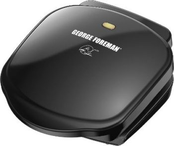 9. George Foreman 2-Serving Press