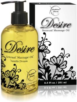 1. Desire Sensual Massage Oil - Best Massage Oil for Couples