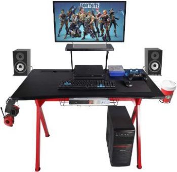 1. LAZZO X Type Computer Gaming Desk