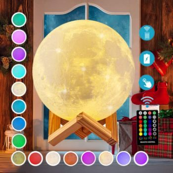 1. Moon Lamp, DTOETKD 16 Colors