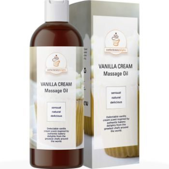 10. Edible Vanilla Erotic Massage Therapy Oils