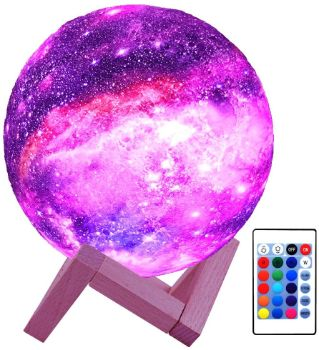 10. HYODREAM 3D Moon Lamp