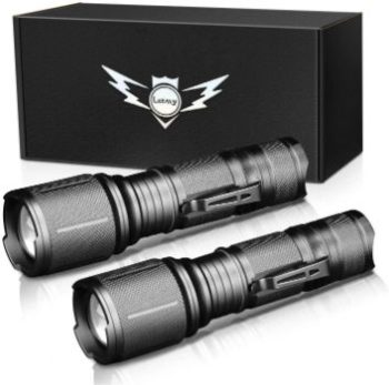 10. LETMY Ultra Bright LED Tactical Flashlight