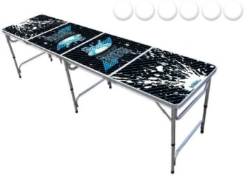 #10. PartyPongTables.com 8-Foot Beer Pong Table