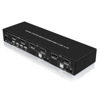 2. E-SDS Dual Monitor Displayport KVM Switch