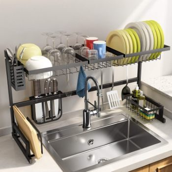 2. SNTD Over The Sink Dish Drying Rack