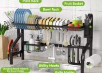 Top 10 Best Dishes Drying Rack Over Sinks in 2021 Reviews