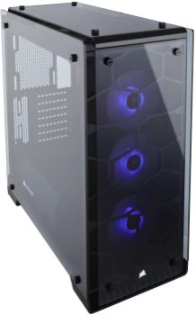 3. Corsair Crystal 570X RGB Mid-Tower Case