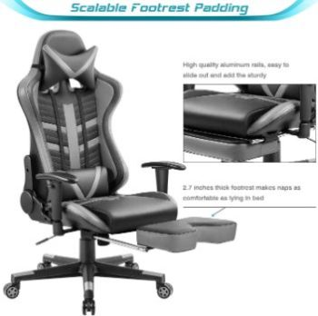 3. Homall Ergonomic High-Back Racing Chair