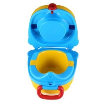 #3. ONEDONE Small Portable Potty for Toddler Travel