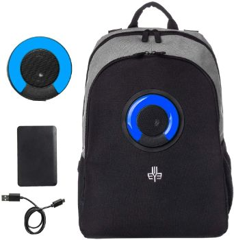 3. WOWmazing Backpack with Detachable Bluetooth Speaker