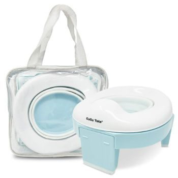 #4. GuGu Tots Portable Potty and Training Seat for Toddlers