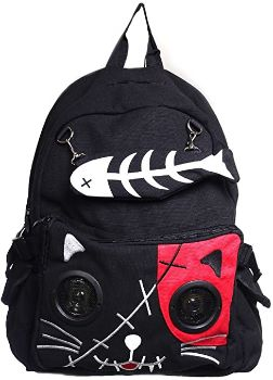 4. Lost Queen Kitty Speaker Backpack