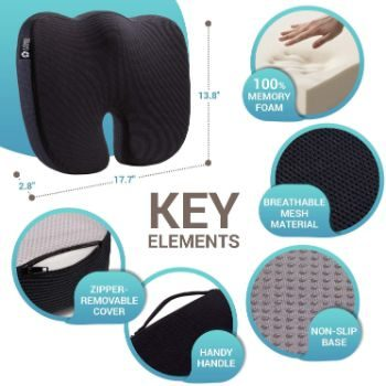 4. Seat Cushion Pillow for Office Chair